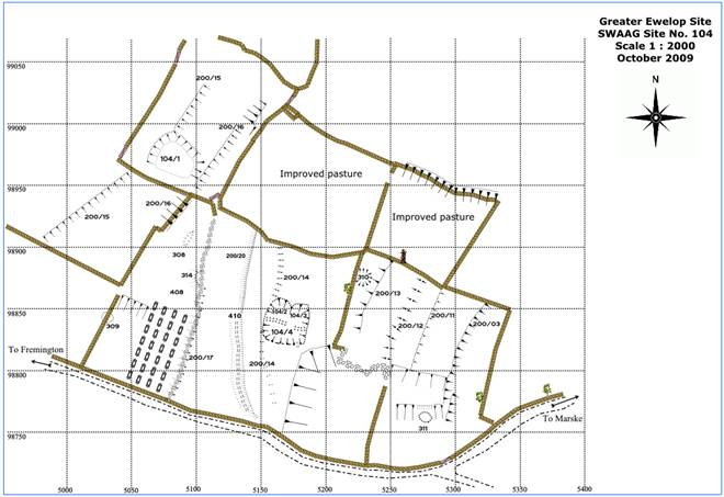 Overview: Archaeological landscape surveying and mapping using hand